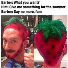 comical barber memes
