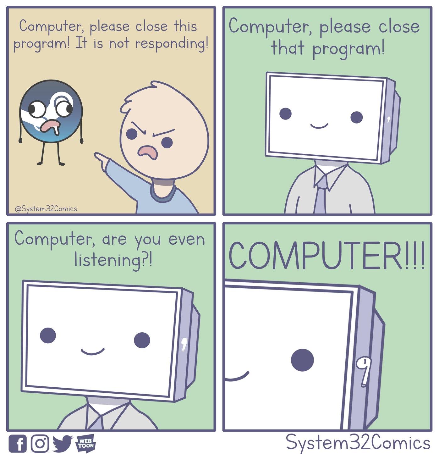 comical computer memes
