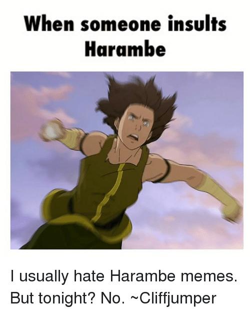 comical insult meme