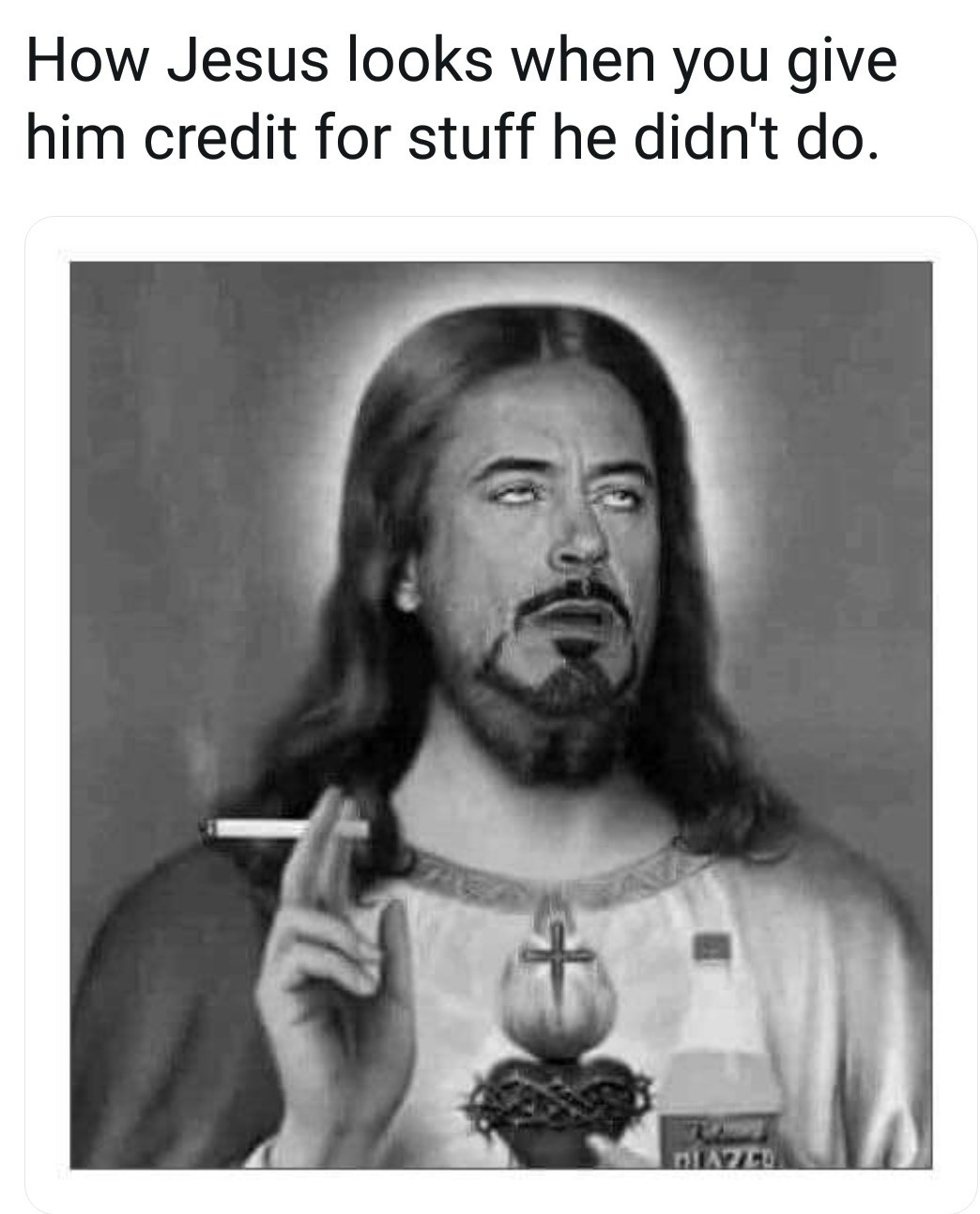 comical jesus meme
