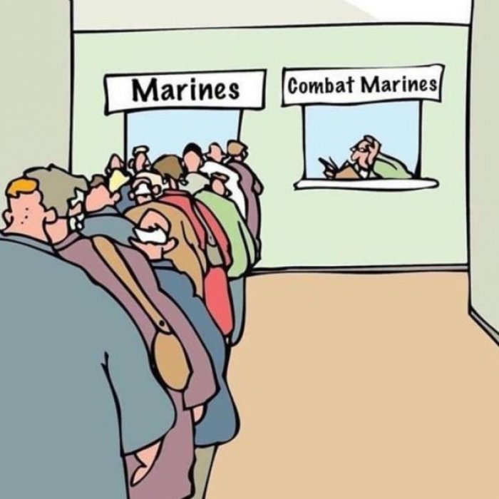 comical marine memes