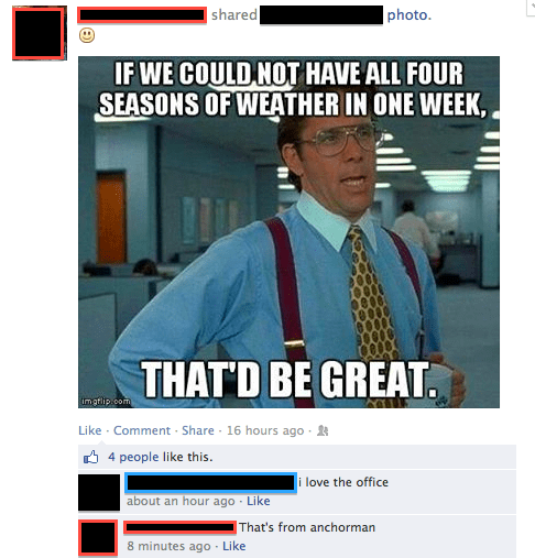 comical office space meme