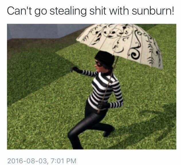 comical sims memes