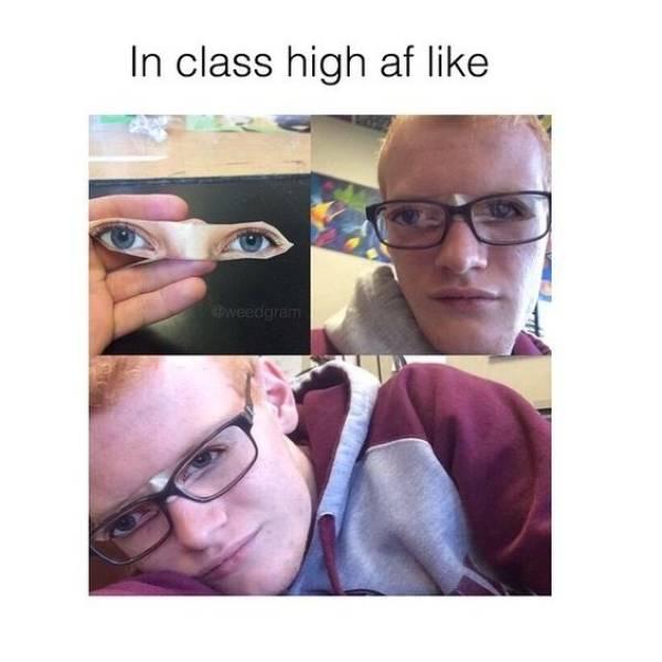 comical stoner memes