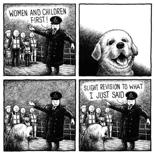 comical titanic meme