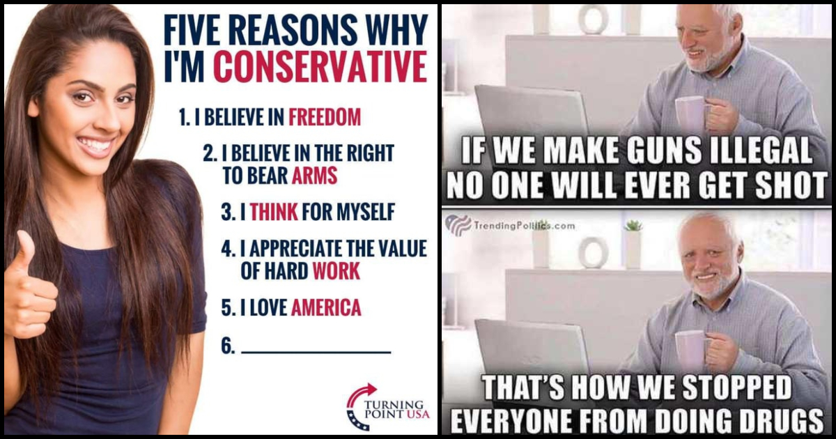 85 Conservative Memes Which Are Worth Preserving Geeks On Coffee
