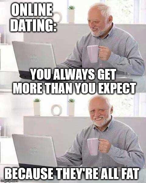 Funny meme om datingdatingside fisk i dammen