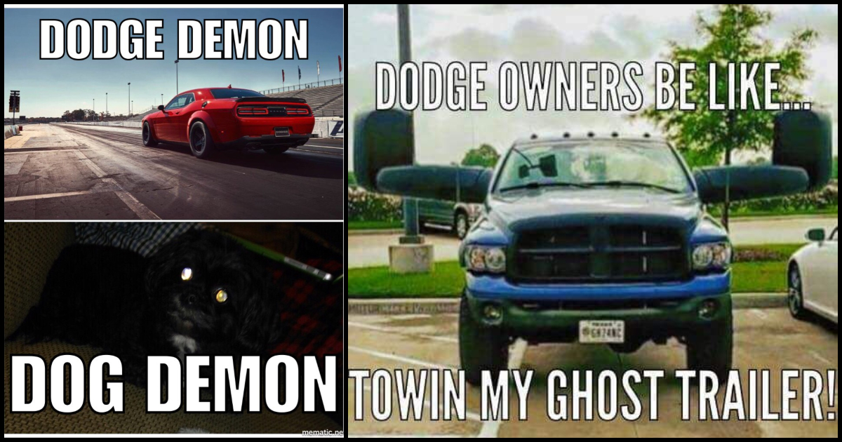 70 Dodge Memes About The Underrated Truck Brand Geeks On Coffee