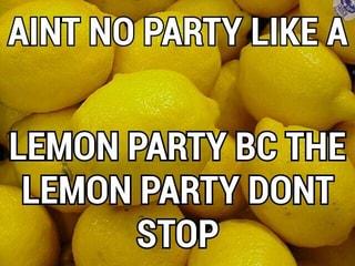 droll Lemon Party memes