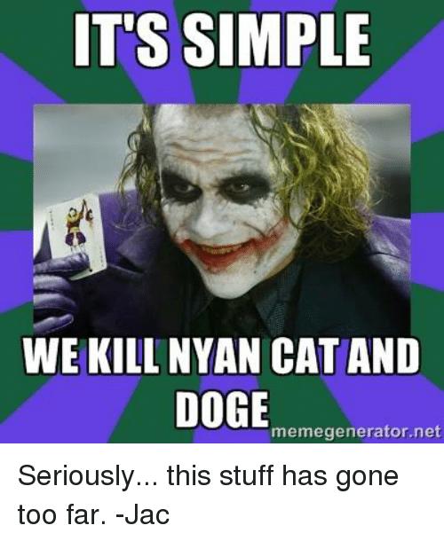 droll Nyan Cat memes