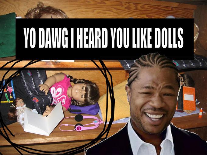 droll Xzibit Yo Dawg memes