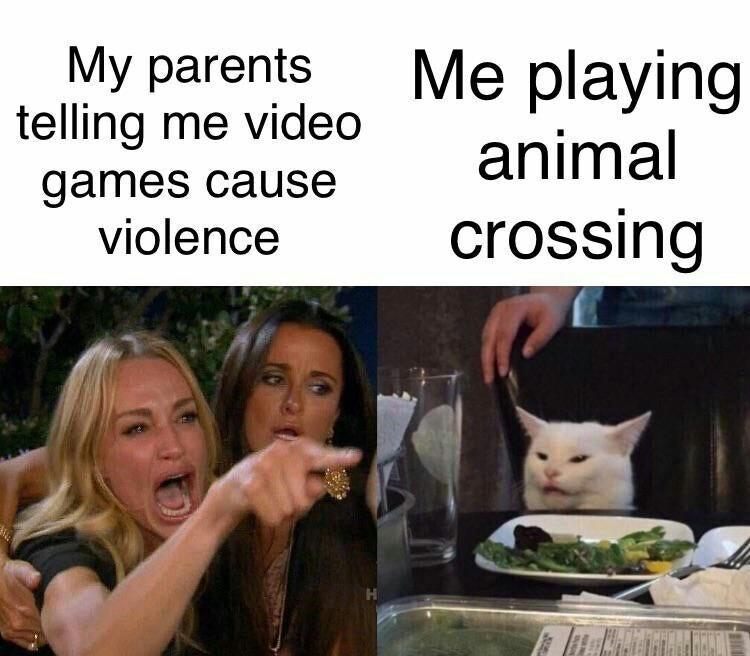 droll animal crossing memes