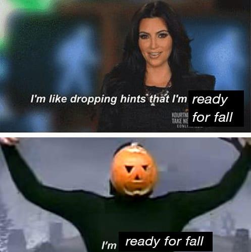 droll fall memes
