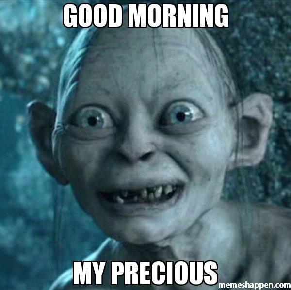 droll morning memes