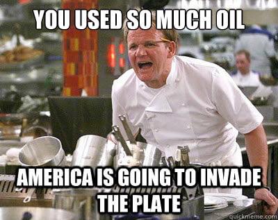 droll oil meme