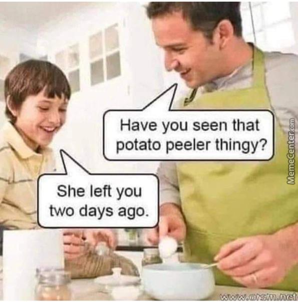 droll potato meme