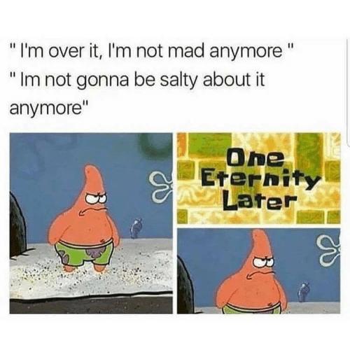 droll salty meme