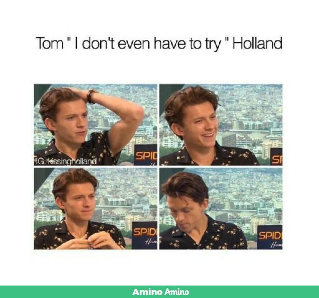 droll, tom holland memes