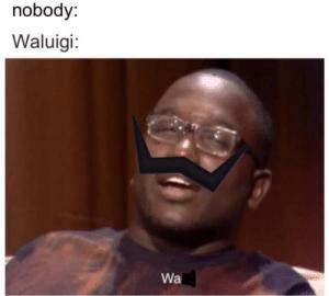 droll waluigi memes