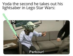 droll yoda meme