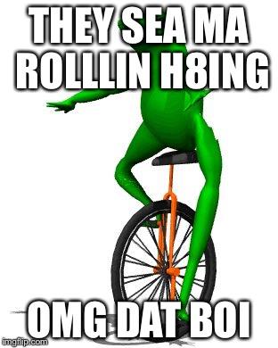 entertaining Dat Boi memes
