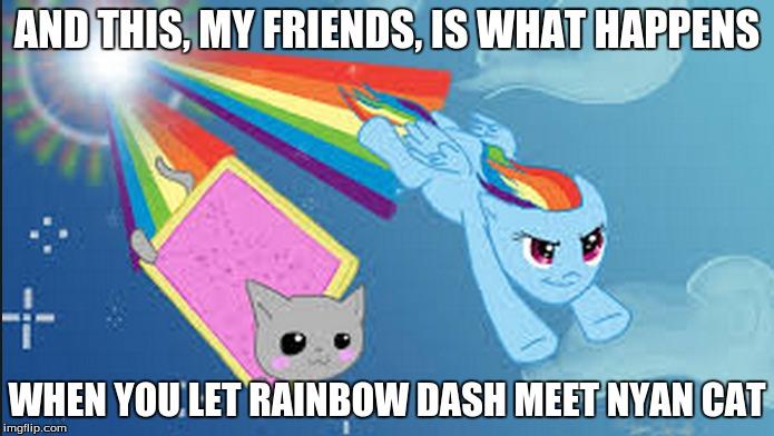 entertaining Nyan Cat memes