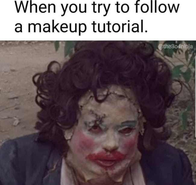 entertaining horror memes