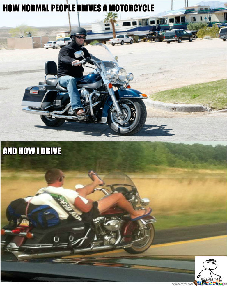 entertaining motorcycle memes