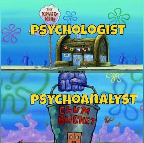 entertaining psychology memes