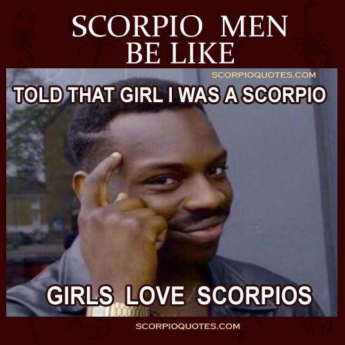 entertaining scorpio memes