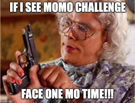 funny Momo Challenge memes
