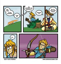 funny breath of the wild memes