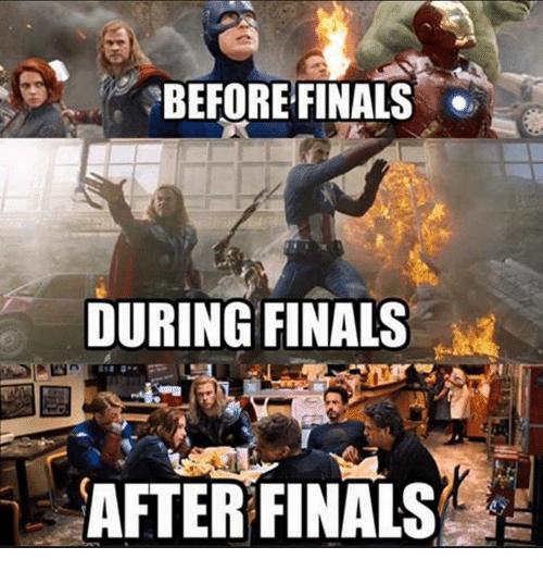 funny finals memes
