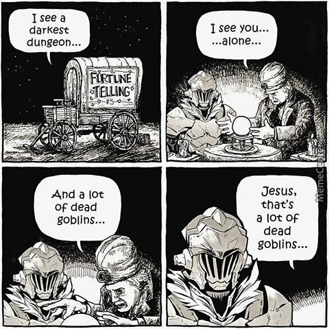 funny goblin slayer meme