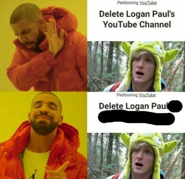 funny logan paul memes