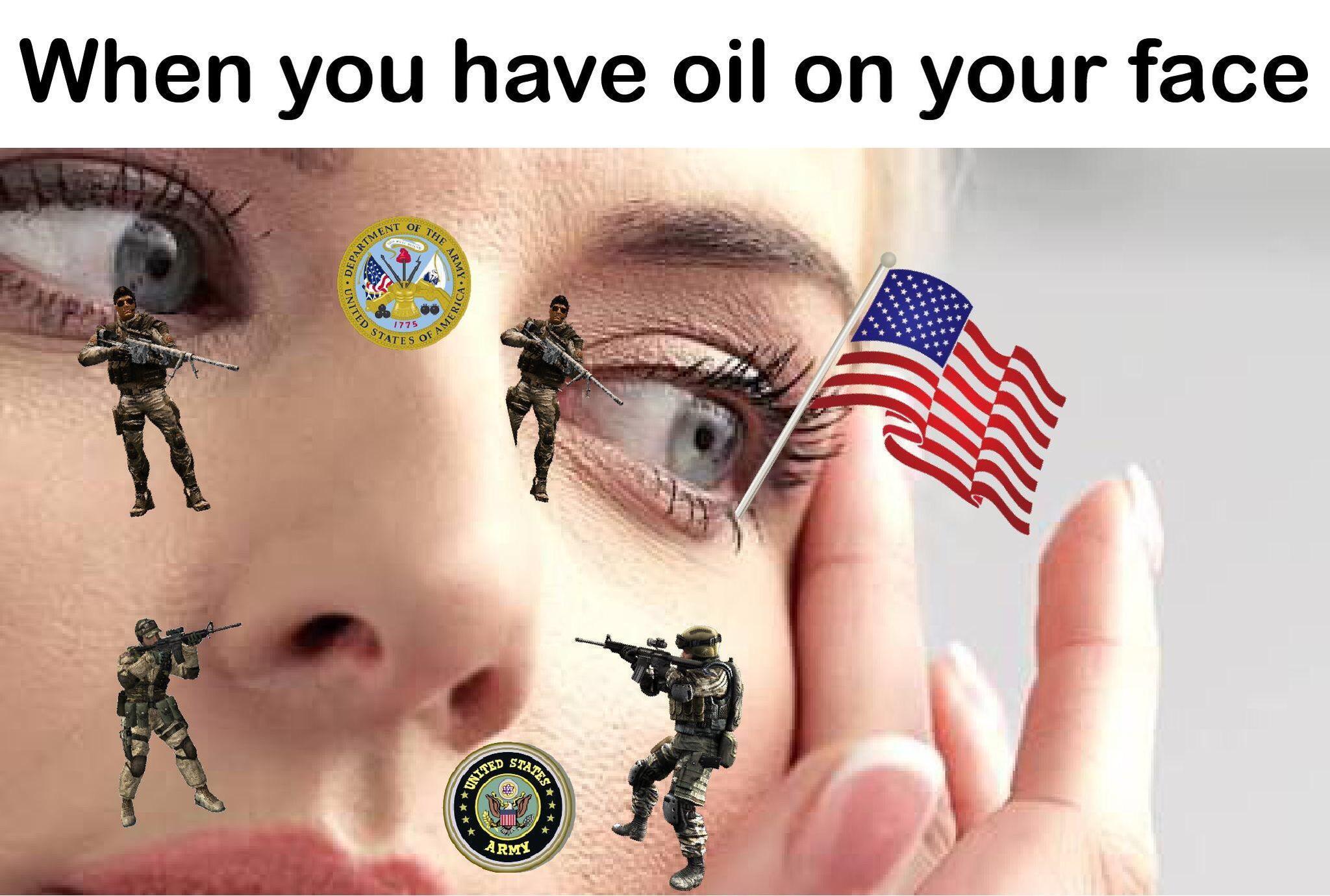 funny oil meme