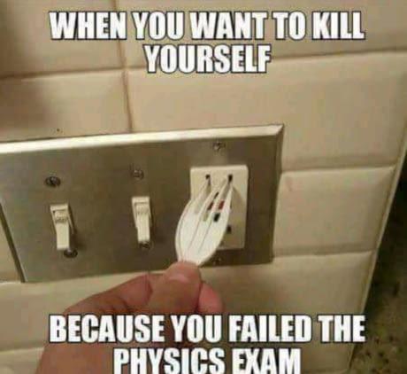 funny physics memes