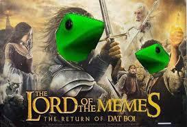 high spirited Dat Boi memes