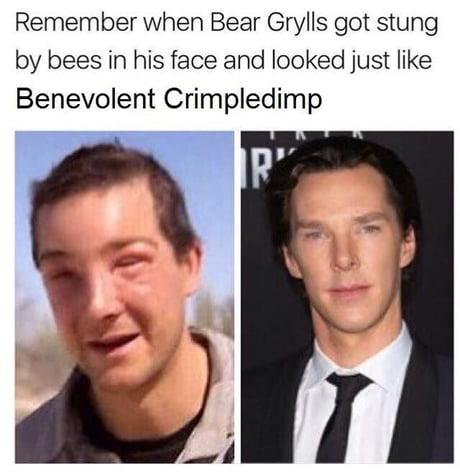 high-spirited benedict cumberbatch memes