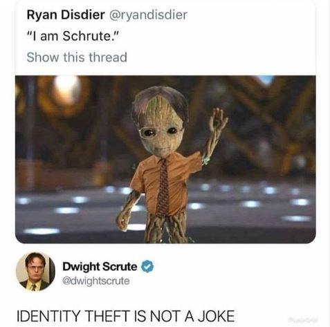 high-spirited dwight schrute memes