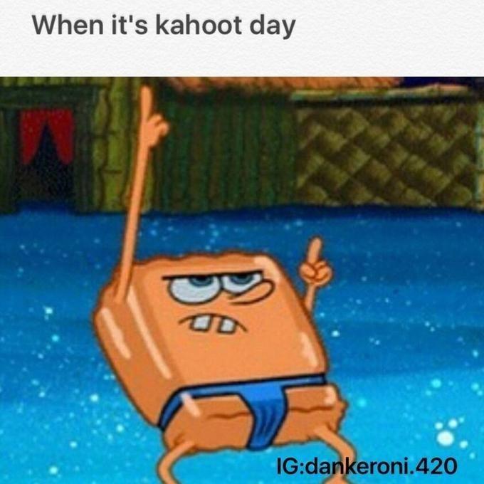 high-spirited kahoot memes