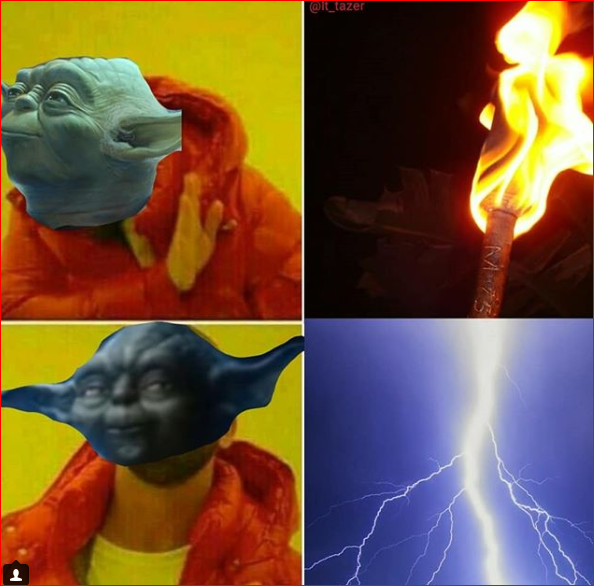 high-spirited last jedi memes