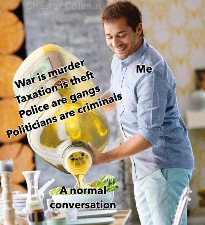 high spirited oil meme