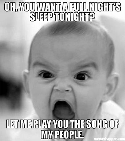 high spirited sleep meme
