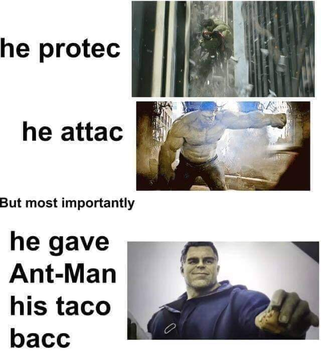 high-spirited taco meme