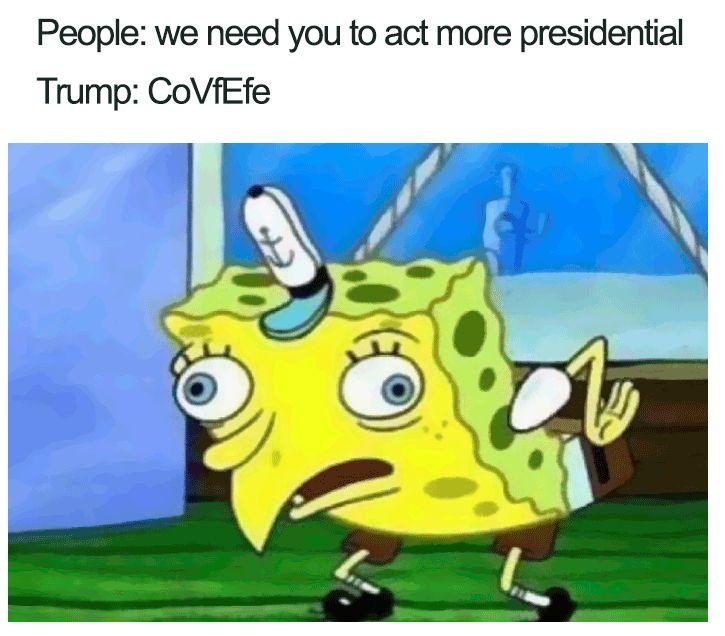hilarious covfefe meme