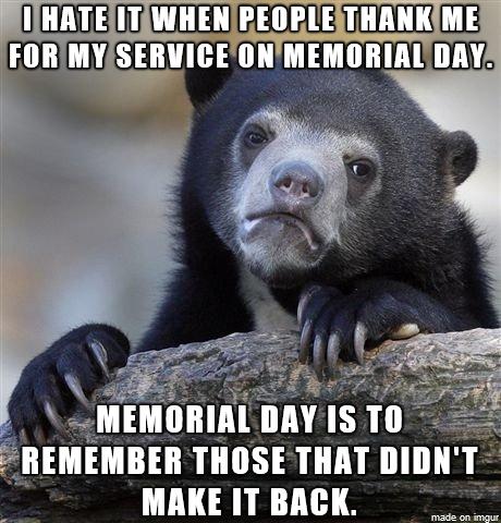 hilarious memorial day meme