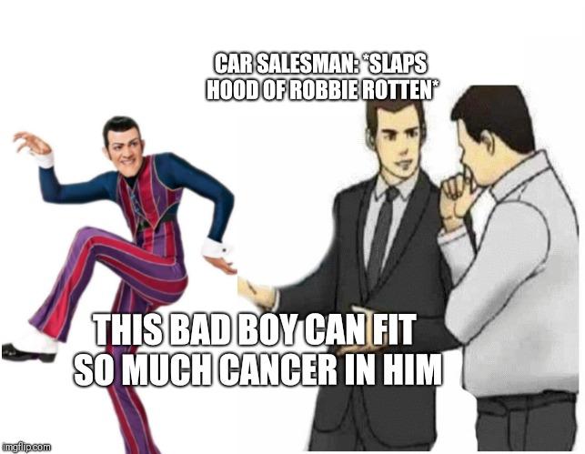 hilarious robbie rotten memes