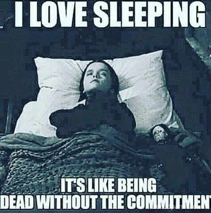hilarious sleep meme