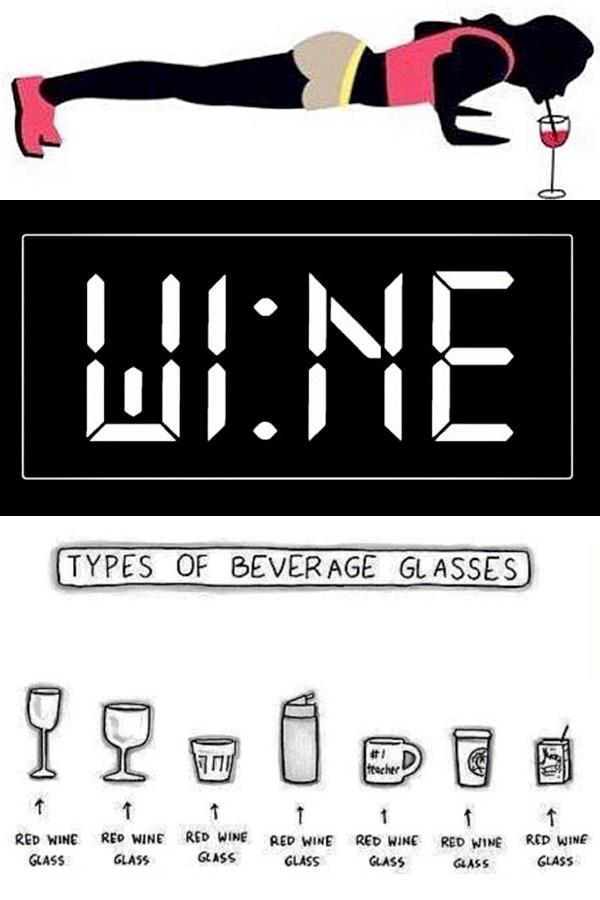 hilarious wine meme